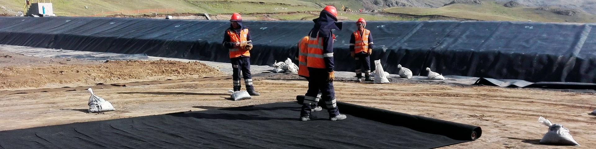 Geosinteticos, MyR Serviplast del Perù